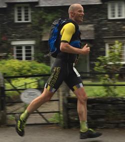 Robin running TriathlonX